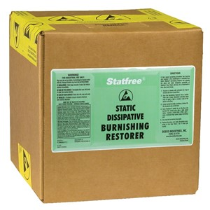 46011-BURNISHING RESTORER, STATFREE 2.5 GAL BOX
