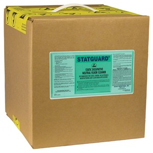 46031-CLEANER, FLOOR, NEUTRAL, STATGUARD, 5 GALLON BOX