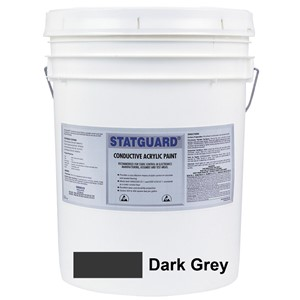 46041-PAINT, STATGUARD, CONDUCTIVE, LATEX,DARK GREY 5 GAL