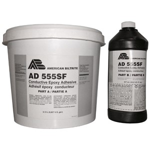 81521-ADHESIVE, CONDUCTIVE, VINYL TILE, TWO-PART EPOXY
