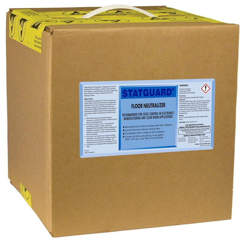 Statguard Flooring Floor Neutralizer Gal - Floor stripping neutralizer
