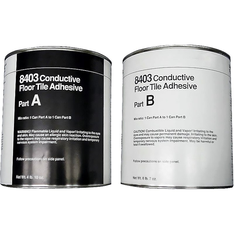 8403-CONDUCTIVE EPOXY ADHESIVE 2 PT 135 SQ FT COVERAGE, STD PACK